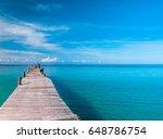 calm meditation living is easy  | Shutterstock . vector #648786754