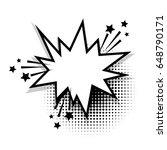 bubble icon speech phrase. star ... | Shutterstock .eps vector #648790171