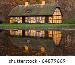 Yellow Half Timbered House With ...