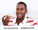 close up portrait of young...   Shutterstock . vector #648806599