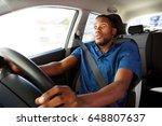 portrait of young african man... | Shutterstock . vector #648807637