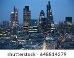london  uk   december 19  2016  ... | Shutterstock . vector #648814279