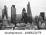 london  uk   december 19  2016  ... | Shutterstock . vector #648822679