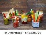 mid shot of variety of... | Shutterstock . vector #648825799
