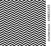 herringbone motif. zigzag... | Shutterstock .eps vector #648831655