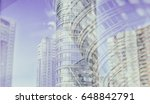 city life. abstract background... | Shutterstock . vector #648842791