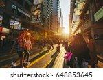 hong kong  hong kong   feb 15 ... | Shutterstock . vector #648853645