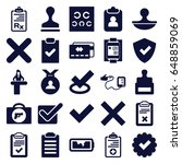 check icons set. set of 25...   Shutterstock .eps vector #648859069
