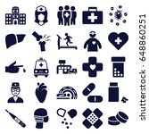 healthcare icons set. set of 25 ...   Shutterstock .eps vector #648860251
