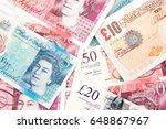 British Pound Money Bills Of...