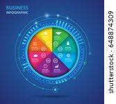 vector infographic of...   Shutterstock .eps vector #648874309