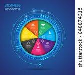 vector infographic of...   Shutterstock .eps vector #648874315
