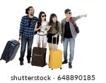 image of diverse tourist using...   Shutterstock . vector #648890185
