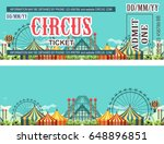 ticket for the performance and... | Shutterstock .eps vector #648896851