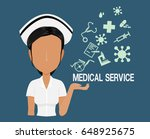 nurse character with the...   Shutterstock .eps vector #648925675