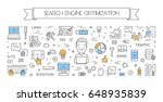 line banner for search engine... | Shutterstock . vector #648935839