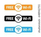 Free WiFi Labels