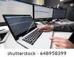 developing programming and... | Shutterstock . vector #648958399
