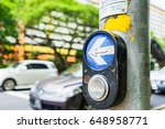 Button For Traffic Light And...