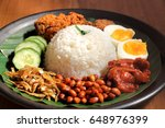 Nasi Lemak Is A Commonly Found...