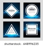 abstract vector layout... | Shutterstock .eps vector #648996235