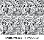 seamless school pattern   Shutterstock .eps vector #64902010