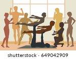 editable vector illustration of ... | Shutterstock .eps vector #649042909