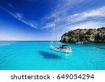Beautiful Bay With Sailing...