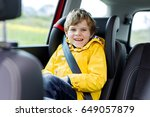 adorable cute preschool kid boy ... | Shutterstock . vector #649057879