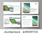 set of business templates for...   Shutterstock .eps vector #649059724