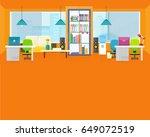 welcome office banner. modern... | Shutterstock . vector #649072519