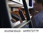 wine cellar.wine cellar. wine... | Shutterstock . vector #649073779