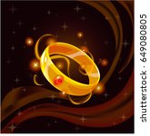 cartoon fantasy magic icon for...   Shutterstock .eps vector #649080805