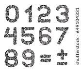 math symbols for your design.... | Shutterstock .eps vector #649104331