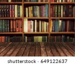 Shelf Book Blur Background