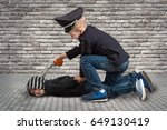 Two Brothers Playing Cop And...