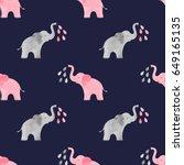 Cute Watercolor Elephants...