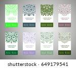 flyer  flyer  cover  pattern... | Shutterstock .eps vector #649179541