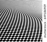 3d halftone background | Shutterstock .eps vector #649186909