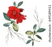 illustration of beautiful... | Shutterstock . vector #649189411