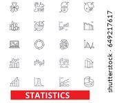 statistics  infographics  data  ... | Shutterstock .eps vector #649217617