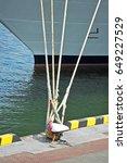 Cruise Tourist Ship And Bollar...
