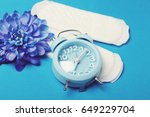 woman hygiene protection ... | Shutterstock . vector #649229704