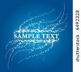 snow frame for text | Shutterstock .eps vector #6492328