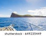 mauritius coin de mire island... | Shutterstock . vector #649235449