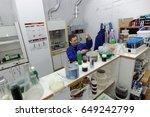 st. petersburg  russia   april... | Shutterstock . vector #649242799