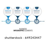 paper infographic templates   Shutterstock .eps vector #649243447
