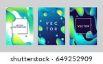 vector design template and... | Shutterstock .eps vector #649252909