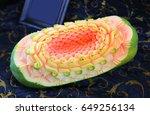 Papaya Thai Fruit Carving