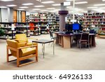 computer station at the... | Shutterstock . vector #64926133